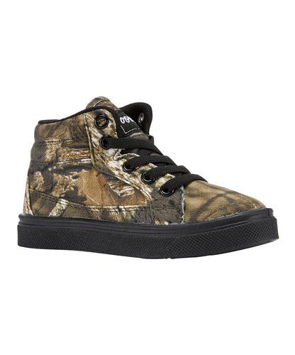 Oomphies Mossy Oak Tyler Hi Top Sneakers