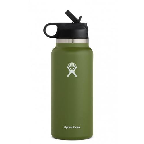 Hydroflask 32oz Wide Mouth Bottle with Straw Lid