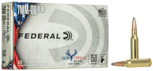 Federal Ammunition Non-Typical 7mm-08