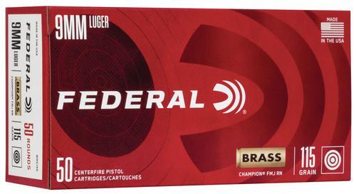 Federal Ammunition Champion Training 9mm Luger