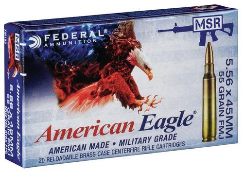 Federal Ammunition American Eagle Training 5.56x45mm