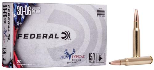 Federal Ammunition Non-Typical 30-06 Springfield 150gr