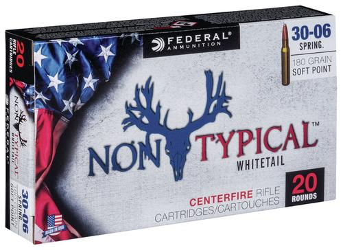 Federal Ammunition Non-Typical 30-06 Springfield 180gr