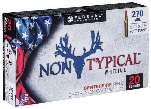 Federal Ammunition Non-Typical 270 Win 130gr