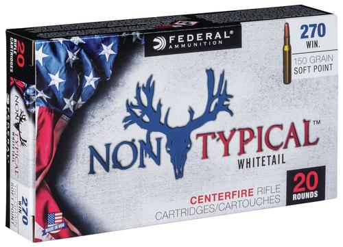 Federal Ammunition Non-Typical 270 Win 150gr
