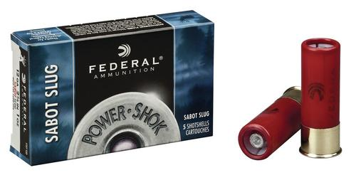 Federal Ammunition PowerShok Sabot Slug 12 Gauge