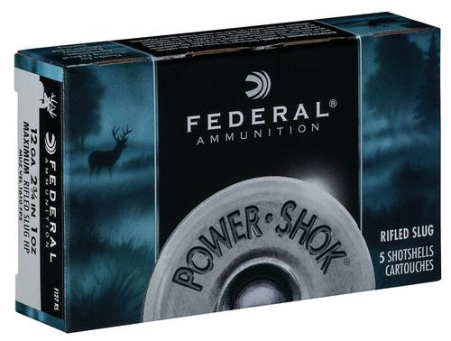 Federal Ammunition PowerShok Rifled Slug 12 Gauge