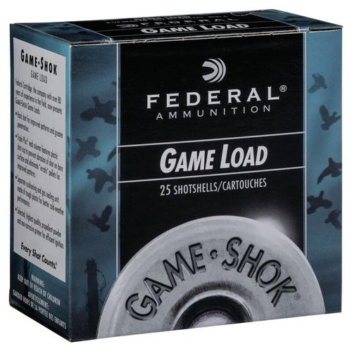 Federal Ammunition GameShok Upland 12 Gauge Size 6 Shot Shells
