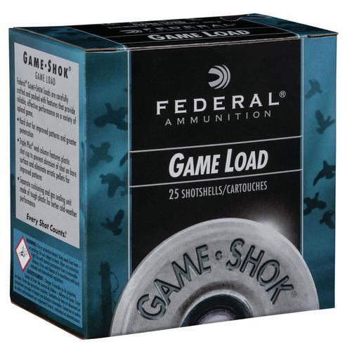 Federal Ammunition GameShok Upland 12 Gauge Size 8 Shot Shells