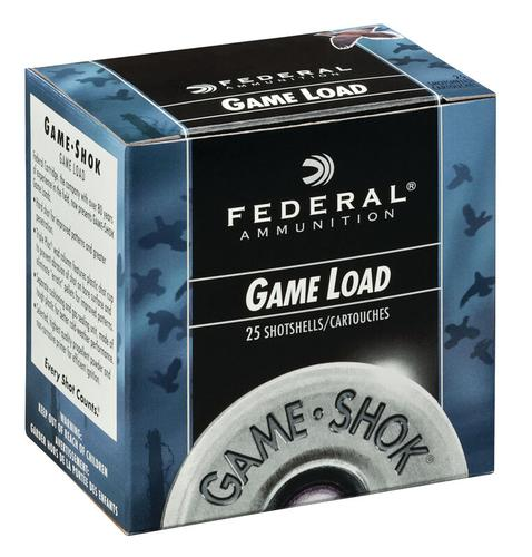Federal Ammunition GameShok Upland 20 Gauge Size 6 Shot Shells