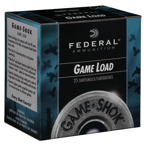 Federal Ammunition GameShok Upland 20 Gauge Size 8 Shot Shells