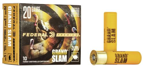 Federal Ammunition Grand Slam 20 Gauge Shot Shells Size 5