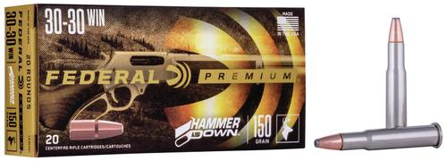Federal Ammunition Hammer Down Rifle 30-30 Win 150gr