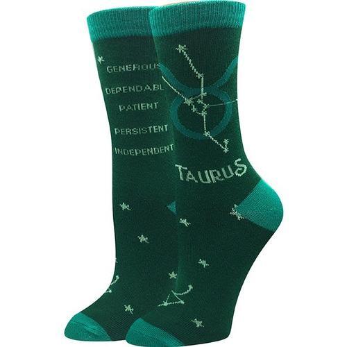 Sock Harbor Taurus Zodiac Socks