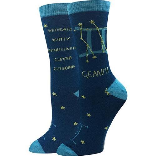 Sock Harbor Gemini Zodiac Socks