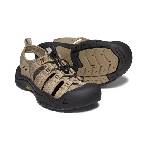 Keen Men's Newport H2 in Taupe and Black