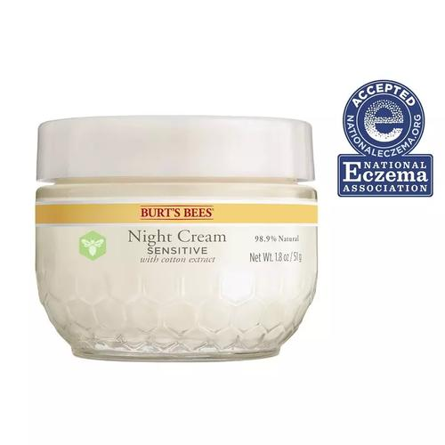Burts Bees Sensitive Night Cream 1.8oz