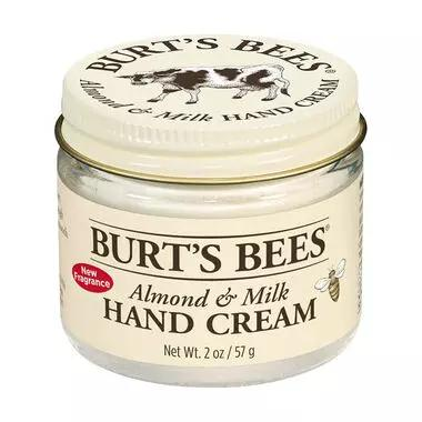 Burts Bees Almond and Milk Hand Cream 2oz Jar