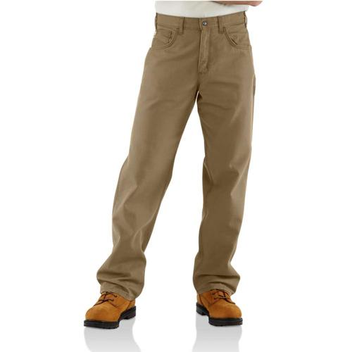 Carhartt Men's Flame Resistant Loose Fit Midweight Canvas Pant