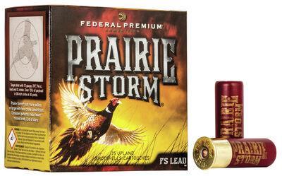 Federal Ammunition Premium Prairie Storm 12 Gauge Shotgun Size 4