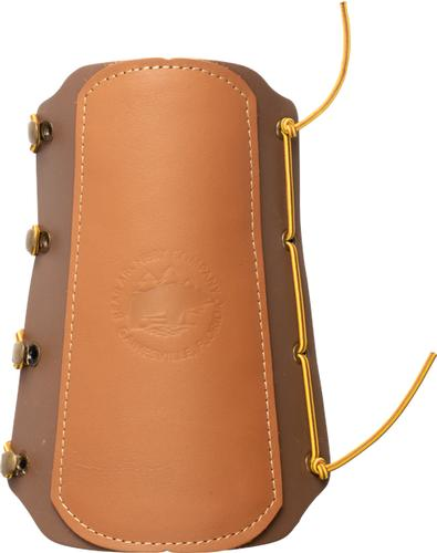 Bear Archery Traditional Logo Leather Arm Guard