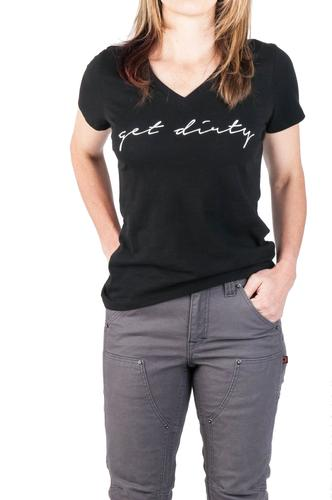 Dovetail Workwear Women's Get Dirty Graphic Tee
