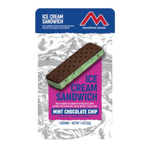 Mountain House Freeze Dried Mint Chocolate Chip Ice Cream Sandwich