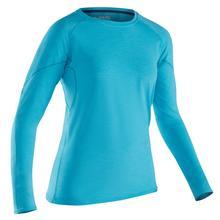 NRS Women's H2Core Silkweight Long Sleeve Shirt BLUEATOLL