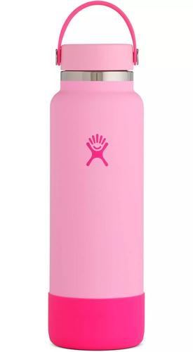 Hydro Flask 40oz Wide Mouth Prism Pop Neon Flex Cap Bottle