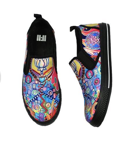 11:11 Style Inferno Slip On Vegan Sneaker