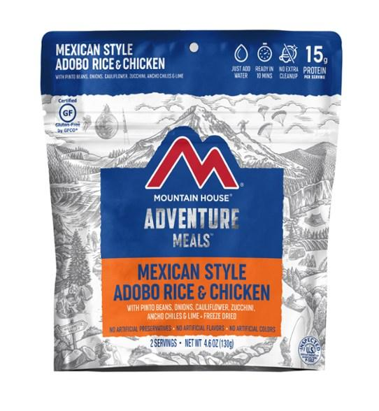 Mountain House Mexican Style Adobo Rice And Chicken Meal