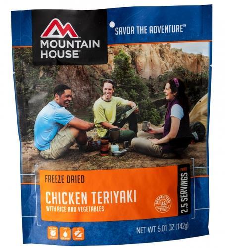 Mountain House Freeze Dried Chicken Teriyaki with Rice