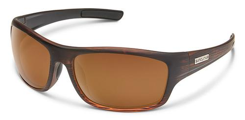 Suncloud Optics Cover Sunglasses Burnished Brown Frames with Brown Lenses