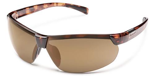 Suncloud Optics Switchback Sunglasses Tortoise Frames with Sienna Lenses