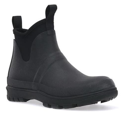 Western Chief Women's Solid Chelsea Neoprene Boot in Black