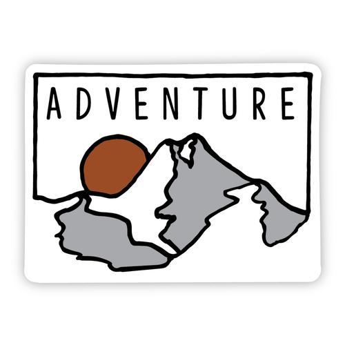 Stickers Northwest Adventure Mountain Sticker