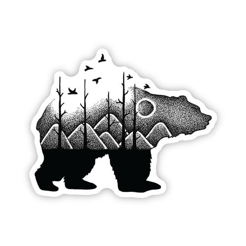 Stickers Northwest Forest Bear Sticker
