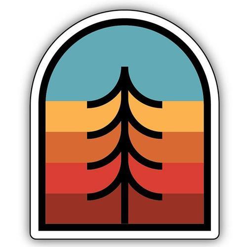 Stickers Northwest Tree Crest Sticker