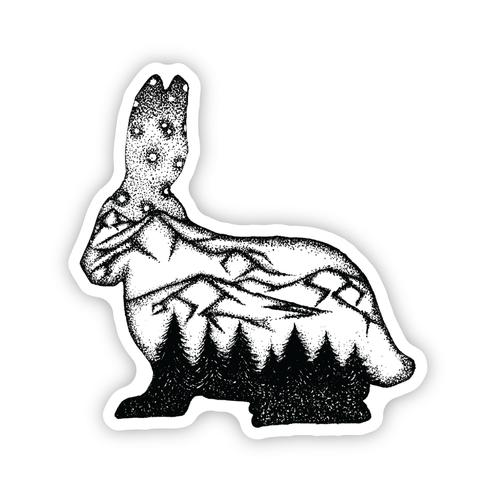 Stickers Northwest Rabbit Scene Sticker