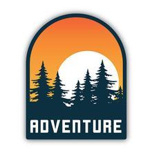 Stickers Northwest Adventure Sunset Sticker ADV_SUN