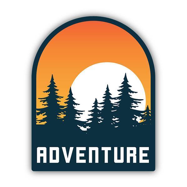 Stickers Northwest Adventure Sunset Sticker