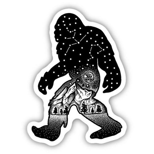 Stickers Northwest Sasquatch Constellation Sticker