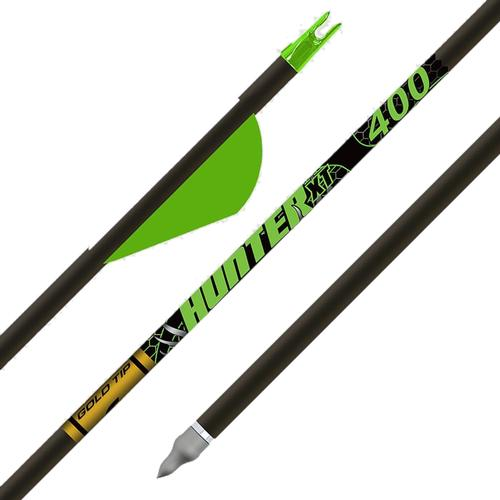 Gold Tip Hunter XT Arrows with Raptor Vanes 12 Pack