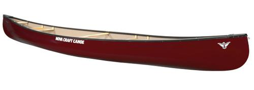 Novacraft Canoe Prospector 17 Tuff Stuff Canoe with Aluminum Gunwales