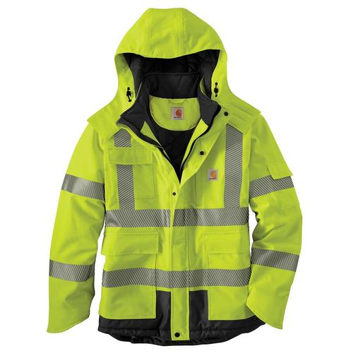 Carhartt Men's Hi Vis Class 3 Sherwood Jacket Big Sizes