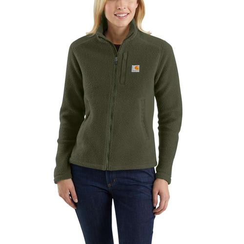 Carhartt Women's Yorklyn Full Zip Fleece Mock Neck Jacket