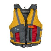 MTI Adventurewear Reflex Youth Life Jacket MANGO/RED