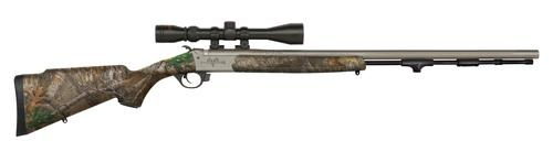 Traditions Firearms Pursuit G4 Ultralight .50 cal Realtree Edge Premium CeraKote Finish with 3-9x40 Scope