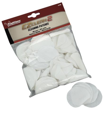Traditions Firearms Cleaning Patches 45-54 Caliber