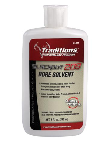 Traditions Firearms Blackout 209 Bore Solvent 8 fl oz